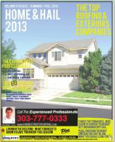 2013 Wind & Hail Guide -- Home Roofing Guide