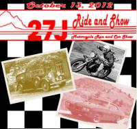 27J Ride and Show Event -  (See attached form below)