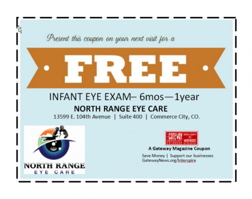 Free Infant Vision Exam